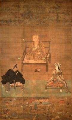 重要文化財 弘法大師丹生高野両明神像(問答講本尊) 金剛峯寺