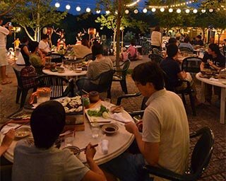 夏の夜はオーダービュッフェとビールを楽しもう!