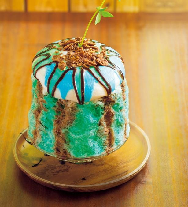 チョコミントEP(1296円)。提供期間は9月下旬まで/cafe 12