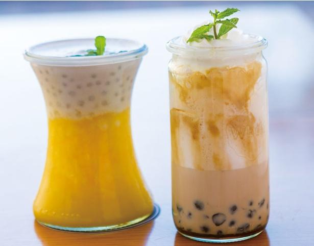 【写真を見る】ヒルトン福岡シーホーク「美食の台湾フードフェア」 / ディナーのみ、2種のタピオカミルクティーもある