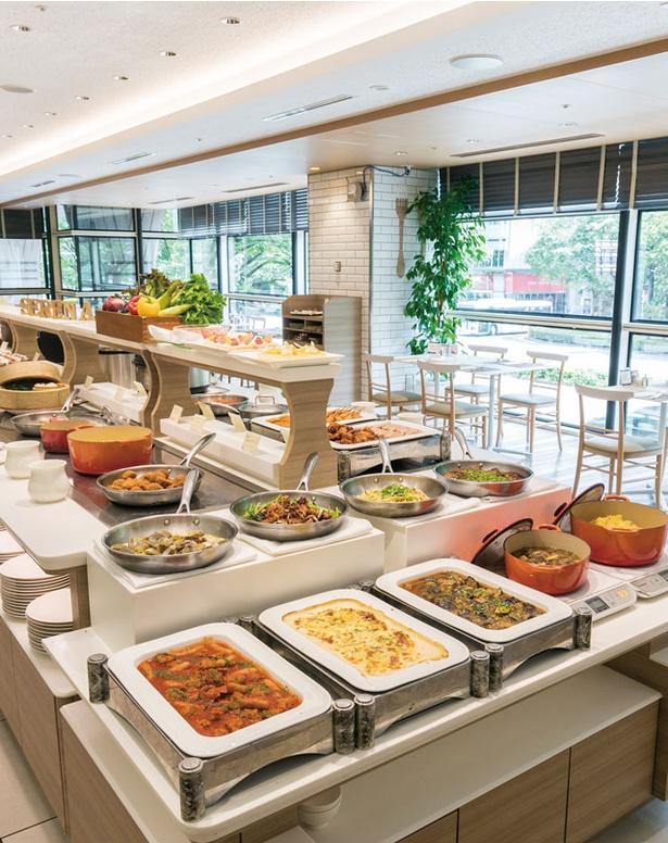 ホテル日航福岡「北海道フェア2019夏」 / 会場のカフェレストラン「セリーナ」
