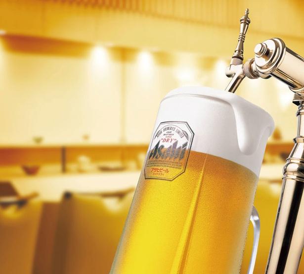 リーガロイヤルホテル小倉「BEER HALL 2019」 / 生ビールはアサヒスーパードライなど全3種を用意