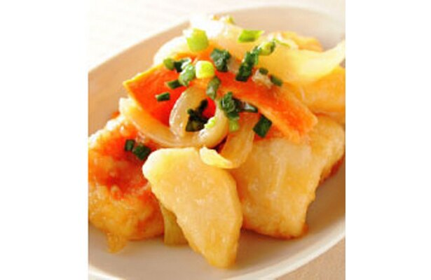 白身魚と長芋の柚子あんかけ(100g420)