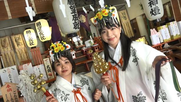 巫女体験で日本文化をしっかり学べて大満足!