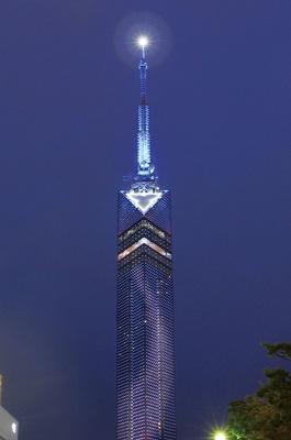 福岡 / THE STAR FESTIVAL -星に近い福岡タワーの七夕まつり- / 天の川イルミネーションは19:30より点灯