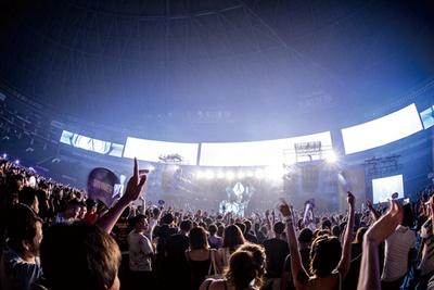 【写真を見る】福岡 / MUSIC CIRCUS FUKUOKA / DJのプレイをメインとした、オールナイトで行うダンス音楽フェス