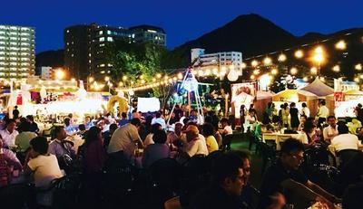 福岡 / 門司港ビアフェスタ2019  レトロナイトinサマー / 今年で25年目となるビールの祭典