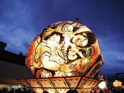 鹿児島 / 第24回 知覧ねぷた祭 / 青森県平川市との地域交流の一環で開催