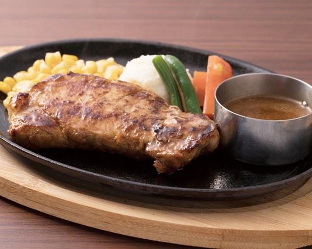 九州産の厳選肉を使った「ポークジンジャー」(2138円) /  グリル大宮