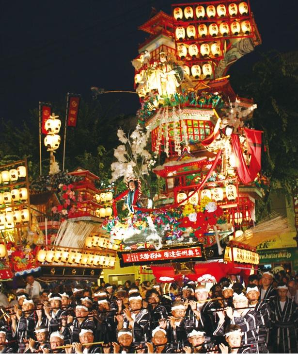 日田祇園祭 / 約300年続く祭りで、ユネスコ無形文化遺産の一つ