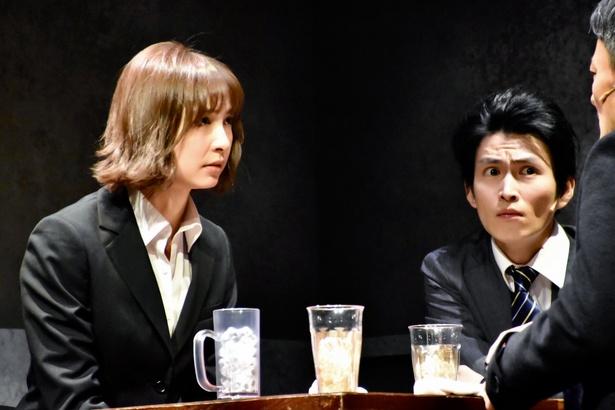 舞台「アンフェアな月」第2弾 ~刑事 雪平夏見シリーズ~「殺してもいい命」のゲネプロの様子