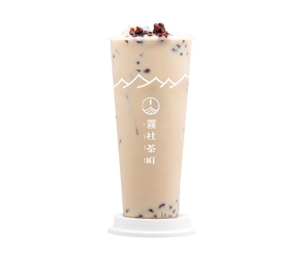 濃厚な味わいと芳醇な甘い香りの台湾紅茶をじっくり抽出した、紅茶ミルクティー M(454円)/霧社茶町 京都河原町店