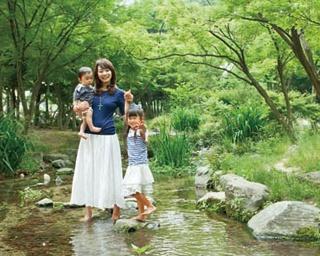 京都の街なかで子供といっしょに水遊び!SLスチーム号も見られる「梅小路公園」へ