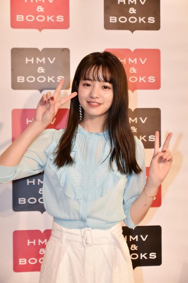 Seventeen専属モデルの横田真悠さんの、初めてのスタイルブック『#まゆうだけ』の発売イベントが開催