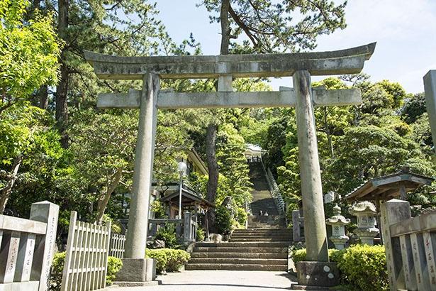 貴船神社に到着。木々に覆われすがすがしい雰囲気