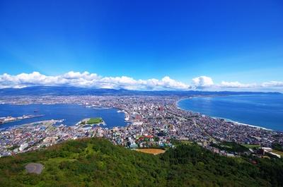 函館山山頂からの眺望
