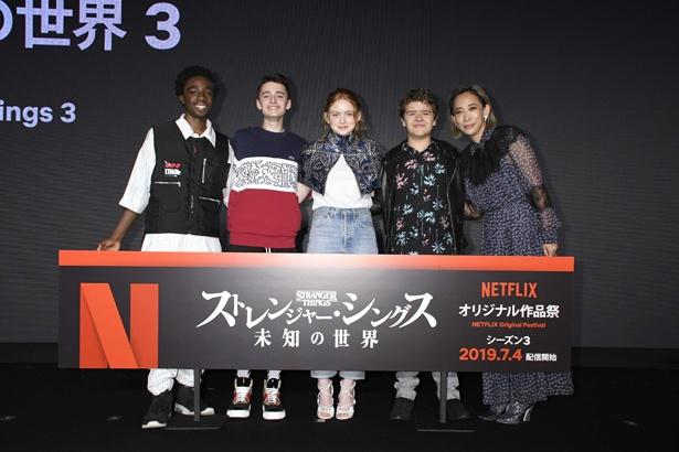 Netflixオリジナル作品祭が開催された。「ストレンジャー・シングス 未知の世界3」の来日キャストと、「FOLLOWERS」蜷川実花監督が登壇
