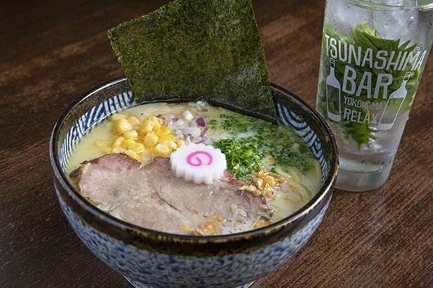 「TSUNASHIMA RAMEN 誠信」は、ジモトではご当地ラーメンとしておなじみ