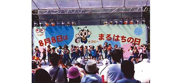 名古屋「まるはちの日」イベント会場写真