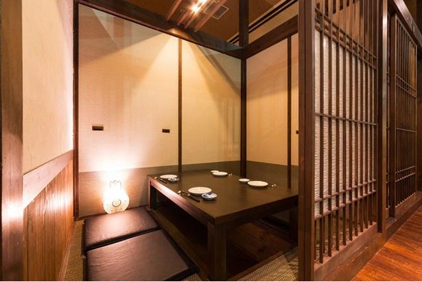 掘りごたつの個室は23部屋ある / 博多前 炉ばた 一承 福岡