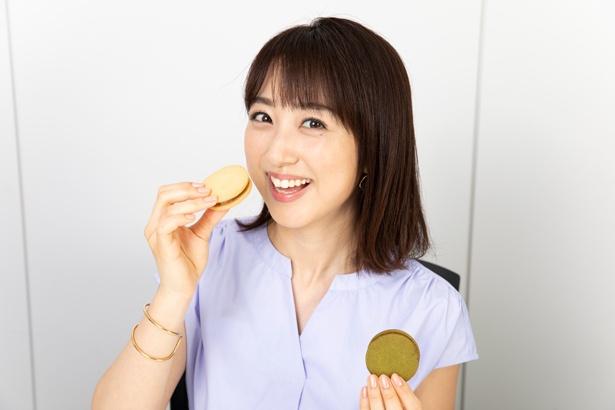 「まさに和菓子と洋菓子のいいところ取り。小豆のつぶあんの『つぶ(プレーン)』など定番の4種類ほか、季節限定の味も楽しみです」
