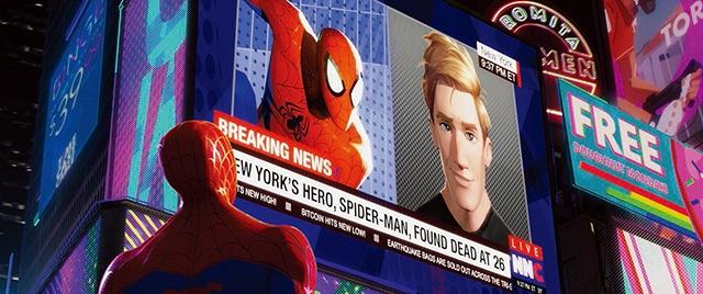 """主人公のマイルスが""""2人のピーター""""と出会う『スパイダーマン:スパイダーバース』"""