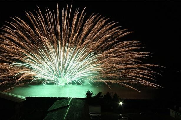 たるみずふれあいフェスタ2019夏祭り / 水中花火や音楽花火は必見
