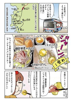 13-002 「YASCORNの0泊3食おひとりさま電車旅」