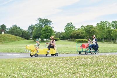 おもしろ自転車は時間内で何種でも乗車可 / 干潟よか公園