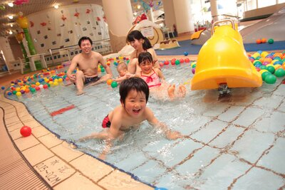 オムツ着用児でも利用できるガトーキングダムの幼児プール