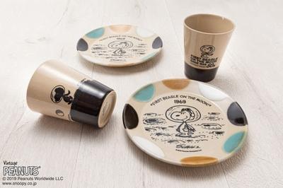 【写真を見る】[アストロノーツスヌーピー50周年記念] MASHICO テーブルウェアアイテム
