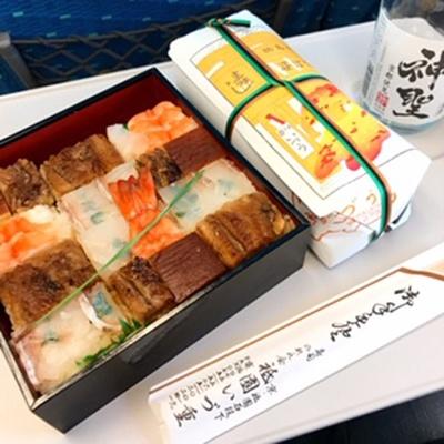 新幹線の移動社内で(ツレヅレハナコさんInstagramより)