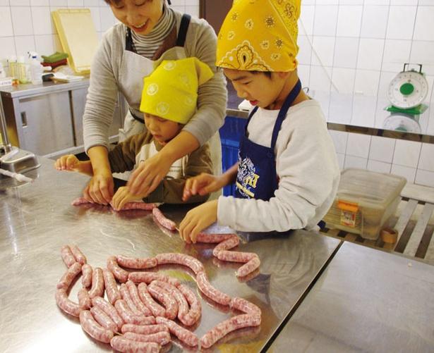 糸島手造りハム / 所要90~120分。作りたてを食べることができ、残った分は持ち帰り可