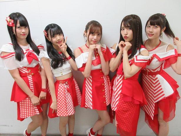 【写真を見る】ニューシングル『サマ☆ラブ』をリリースしたAnge☆Reve