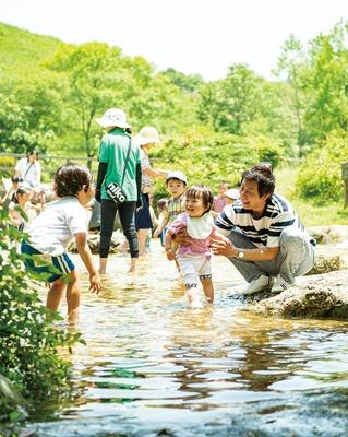 三瀬ルベール牧場 どんぐり村 / 夏期限定のじゃぶじゃぶ池