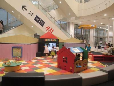 イオンモール筑紫野 / マット遊具や知育玩具で遊べる「キッズパーク」は未就学児が対象