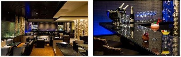 ホテル シギラミラージュ / 「ザ シギララウンジ」。ベイサイド1階のラウンジ&バー