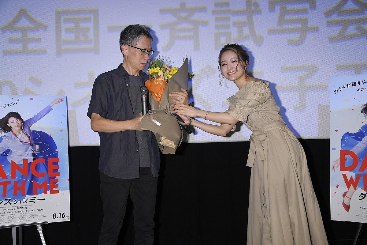 7月9日は、109シネマズ二子玉川で行われたスペシャルトークイベントにchayと矢口監督が登壇