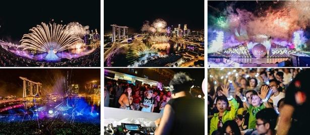 初の海外開催となった「STAR ISLAND SINGAPORE COUNTDOWN EDITION」の様子