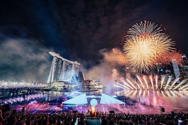 【画像】86カ国の人々が観覧したシンガポール開催の STAR ISLAND