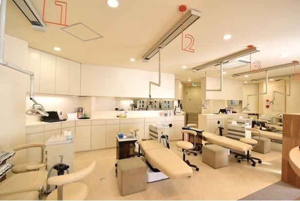 KiD's歯科べふ / 治療中はいつでもそばに保護者が寄り添える環境