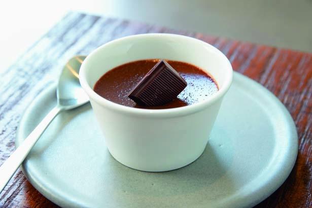 クレーム オ ショコラ(561円)。提供期間通年/YARD Coffee&Craft Chocolate