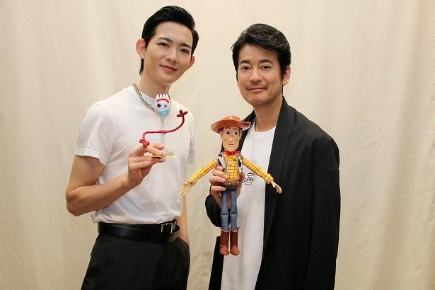 『トイ・ストーリー4』の声優を務めた唐沢寿明と竜星涼