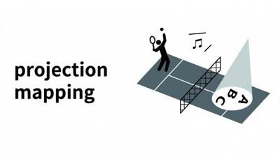 プロジェクションマッピングを使ったゲームなどが行われることもある