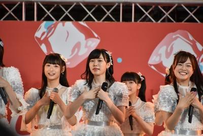 """48グループで今年の""""サマステ""""トップバッターを務めたHKT48"""