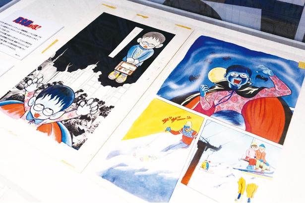 藤子不二雄Ⓐ展ーⒶの変コレクションー / 「ブラックユーモアゾーン」で展示される貴重な原画は必見