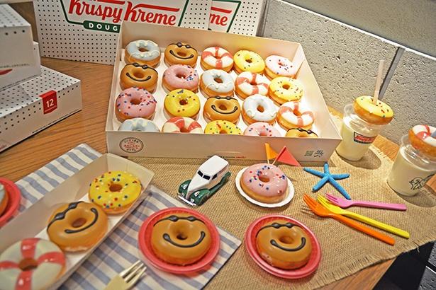夏らしさ全開!日焼けのヒミツはキャラメルにあり『ミニ ドーナツ』3個入り(420円)、10個入り(1210円)、20個入り(2,000円)