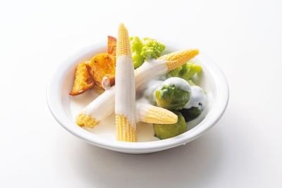 冷製チーズフォンデュ/大阪タカシマヤ 屋上ビアガーデン