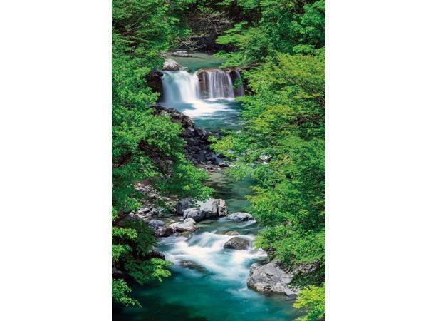 本谷園の風景。川の美しさに目をうばわれる / 「付知峡(つけちきょう)」(岐阜県中津川市)