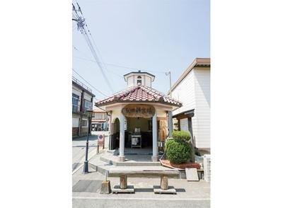 長田鉱泉場 / レトロな外観が目印